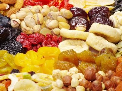 Орехи, семена, ягоды
