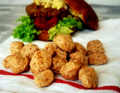 Соевое мясо, спаржа, полуфабрикаты
