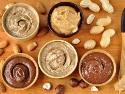Урбечи, арахисовые пасты, шоколадные