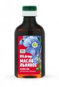 Масло льняное Мирролла 250мл Oil Drop