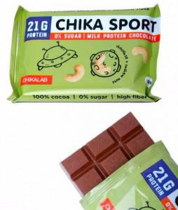 Шоколад молочный с кешью 100г CHIKALAB