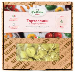 Пельмени Тортеллини с овощным рататум 400г Карат