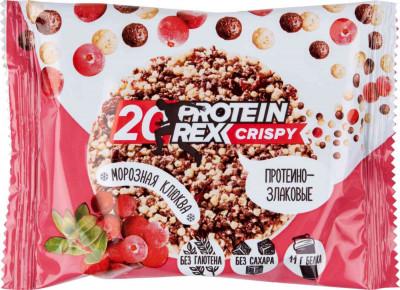 Хлебцы протеино-злаковые Морозная клюква 55г Proteinrex