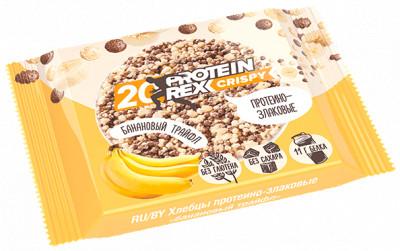 Хлебцы протеино-злаковые Банановый Трайф 55г Proteinrex
