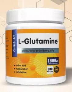 Глютамин порошок 200 г CHIKALAB