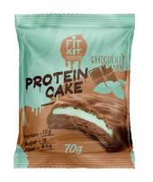 Печенье протеиновое Шоколад-мята 70г FitKit