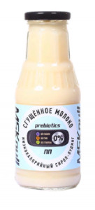 Сироп Сгущеное молоко низкокалорийный 330г MSKNull