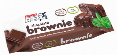 Пирожное протеиновое брауни 50г Proteinrex