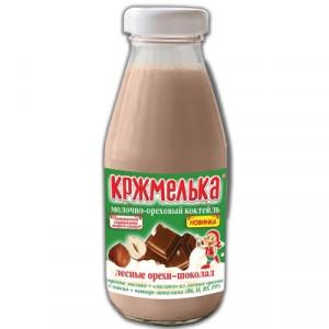 Коктейль молочно-ореховый лесные орехи-шоколад 0,34 л Кржмелька