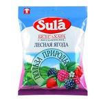 Леденцы Лесная ягода на сорбите 60г Sula