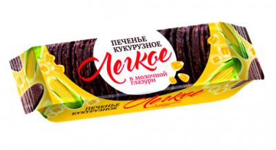 Печенье легкое кукурузное без глютена в молочной глазури с карамельным вкусом 145 г Продпоставка