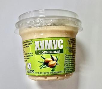 Хумус с маслинами 150г Карат