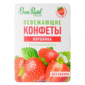 Конфеты освежающие без сахара Клубника Fresh 12г Bon Pastil