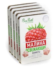 Конфеты освежающие без сахара Малина SuperFresh 12г Bon Pastil