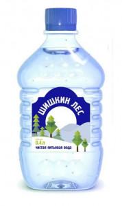 Вода питьевая негазированная пэт 400мл Шишкин лес
