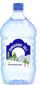 Вода питьевая негазированная пэт 1л Шишкин лес