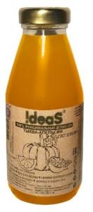 Детокс-сок Тыква-Апельсин ст/б 0,3 л !DEAS