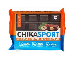 Шоколад темный с фундуком 100г CHIKALAB