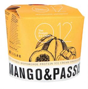 Мороженое молочное белковое со вкусом манго-маракуйи 70г О12