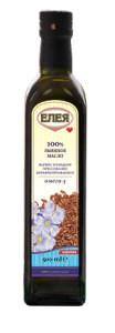 Масло льняное нерафинированное холодный отжим 500мл Елея