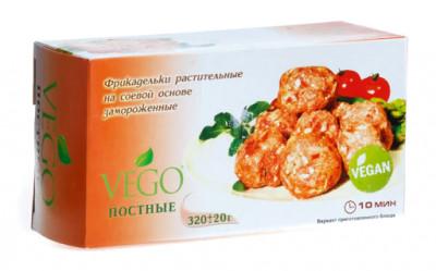 Фрикадельки постные/вегетарианские замороженные 320г Vego
