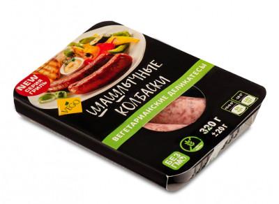 Колбаски вегетарианские Шашлычные 320г Vego