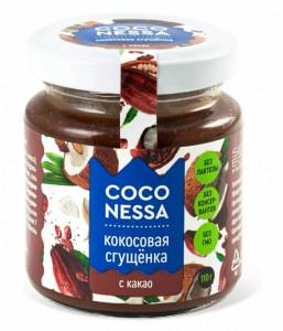 Кокосовая сгущенка Какао 110г Coconessa