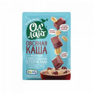Каша овсяная молочная с шоколадными кусочками 40г Ол' Лайт