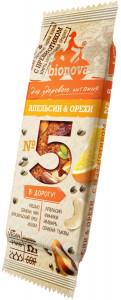 Фруктово-ореховый батончик Апельсин & орехи 35г Bionova