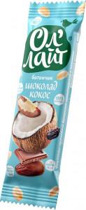 Фруктово-ореховый батончик Шоколад & кокос 30г Ол' Лайт
