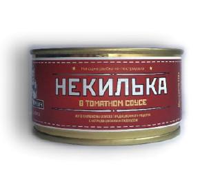НеКилька в томатном соусе ж/б 200г Веган Иваныч