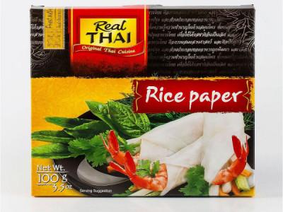 Бумага рисовая 16см 100гр REAL THAI