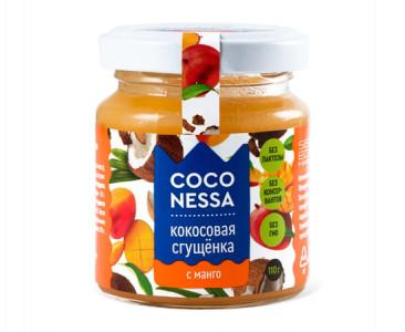 Кокосовая сгущенка Манго 110г Coconessa