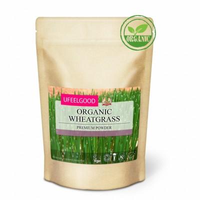 Ростки пшеницы молотые органический 200г Ufeelgood