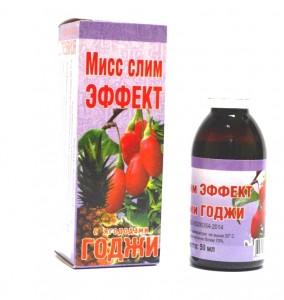 Мисс слим Эффект с ягодами Годжи 50мл Крымская Стевия