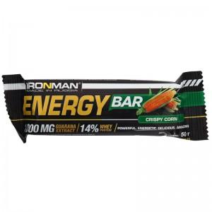Батончик Energy Bar Кукуруза с гуаранаой 50г IRONMAN