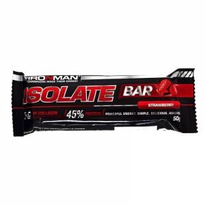 Батончик Isolate Bar 45% белка клубника 50г IRONMAN