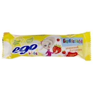 Батончик мюсли EGO KIDS Клубничный десерт 25г Формула жизни