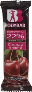 Батончик протеиновый 22% спелая вишня в горьком шоколаде 50г BODYBAR