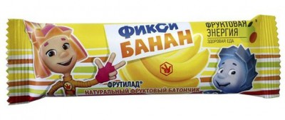 Фрутилад Фикси Банан 30г Фруктовая энергия
