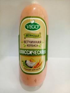 Колбаса ветчинная классическая веганская 400г Vego