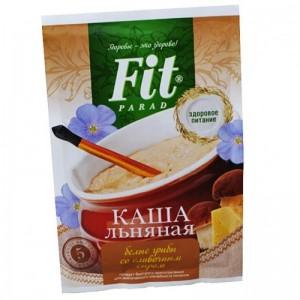 Каша льняная Белые грибы со сливочным сыром 25г ФитПарад