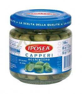 Капперсы Окьелло в уксусе 106мл Iposea
