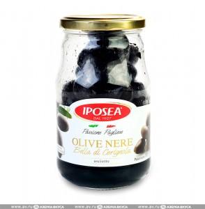 Маслины без жидкости 314г Iposea
