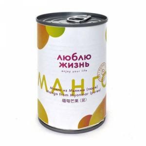 Пюре манго 100% 400г Люблю Жизнь