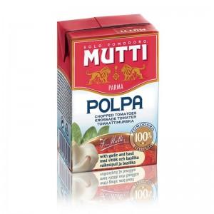 Томаты резаные кубиками Пассата тетрапак 500мл Mutti