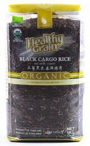 Рис тайский черный органический 1кг SAWAT-D
