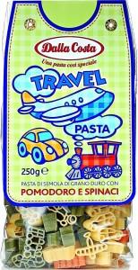 Макароны Путешествие со шпинатом и томатами 250г Dalla Costa