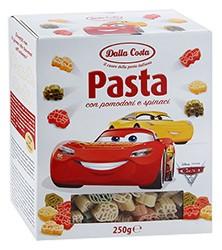 Макароны Тачки со шпинатом и томатами 250г Dalla Costa
