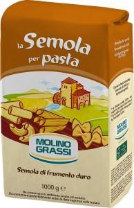 Мука пшеничная из твердых сортов пшеницы Симола Италия 1кг Molino Grassi